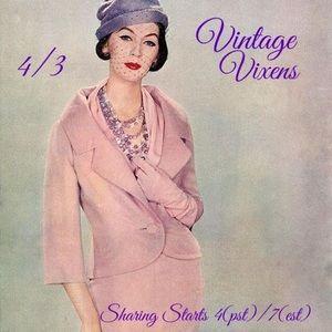 SATURDAY 4/3 Vintage Vixens Sign Up Sheet